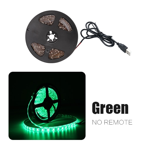 USB LED Strip DC 5V Flexible Light Lamp