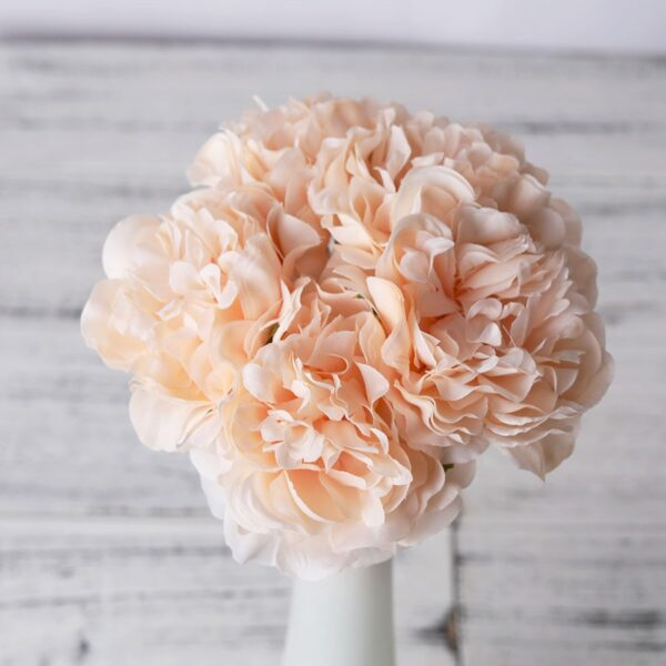 peony artificial artificial silk flowers for home decoration