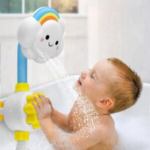 Bath Toys for Kids Baby Water Game Clouds Model Faucet Shower Water Spray Toy For Children