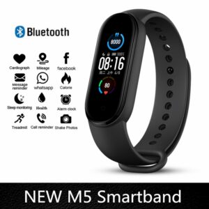 M4 M5 Smart Band Fitness Tracker