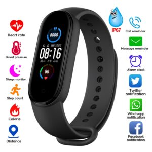 M4 M5 Smart Band Fitness Tracker