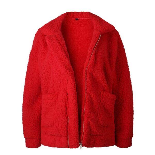 Elegant Faux Fur Coat For Women