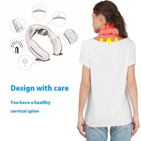 Smart Electric Neck and Shoulder Massager