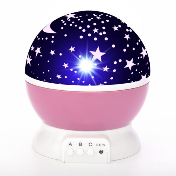 Sky Projector Star Moon Galaxy Night Light For Children Kids Bedroom